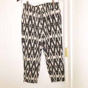 JCREW iKat jogger pants Black&White Sz: 4